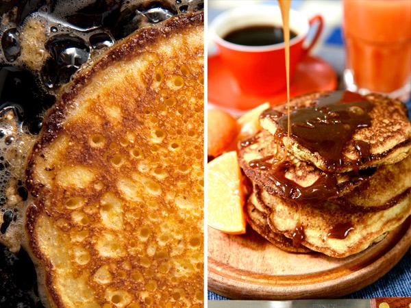 Johnnycakes, o pancakes di polenta, o frittelle di mais