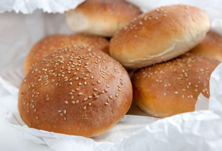abbastanza Best Burger Buns: panini per hamburger fatti in casa – Un  AI96