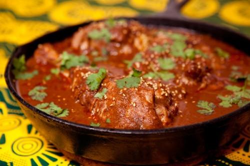 Pollo in salsa Mole internazionale (e improvvisato)