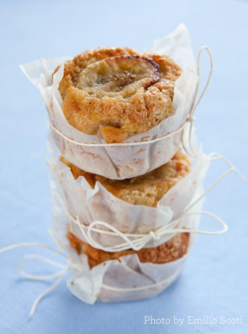Muffin di banana e soia