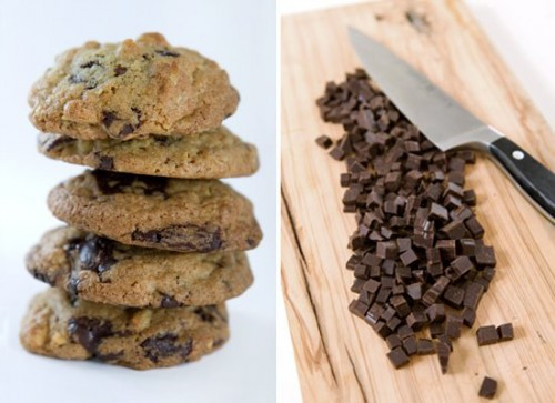 """Chocolate """"Chip"""" Cookies"""