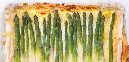 Asparagus and Leek Tart