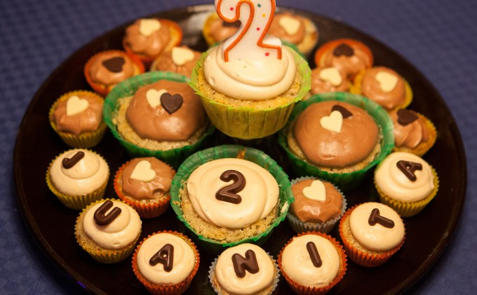 I cupcake di Juanita: alla banana e burro d'arachidi