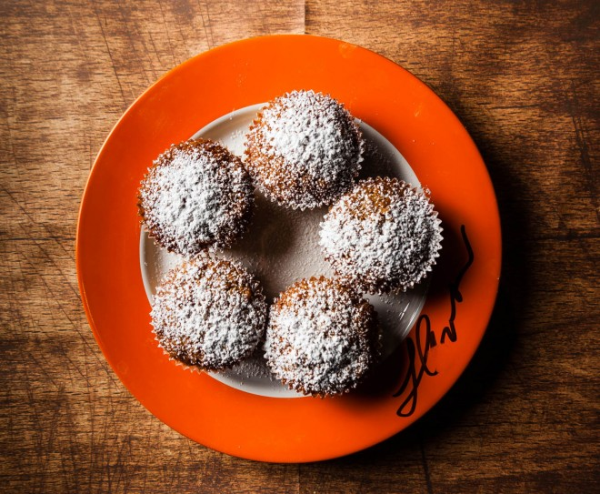 carrot peel muffins
