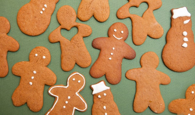 Gingerbread men: Omini di pan di zenzero