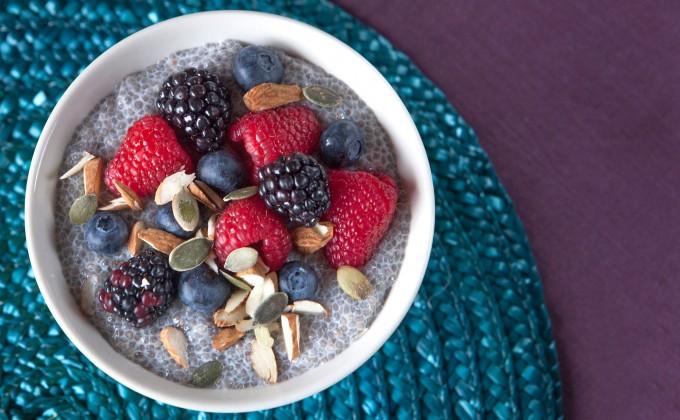 Chia pudding: Budino di semi di chia