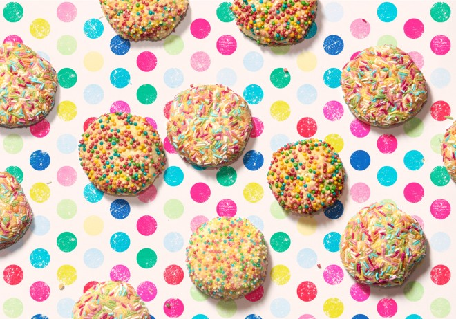 Sprinkle Cookies: Biscotti di Carnevale