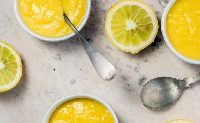 Lemon curd: Crema al limone