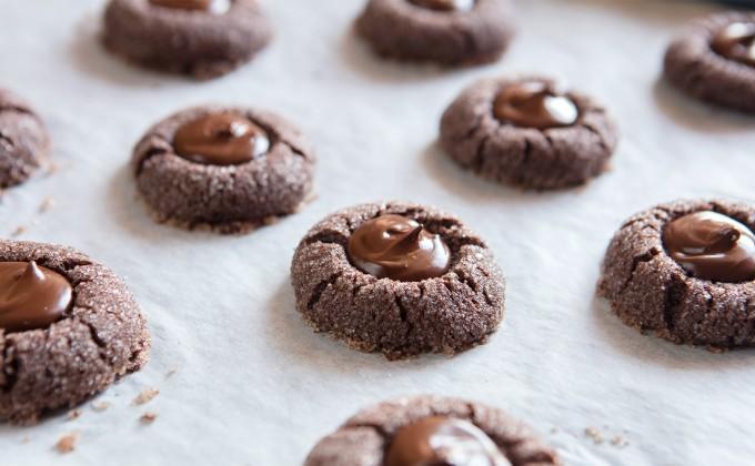 Cookies al cioccolato e menta piperita