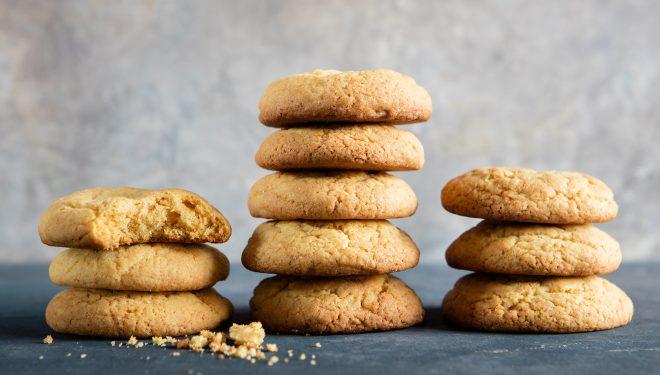 Biscotti allo zafferano e vaniglia