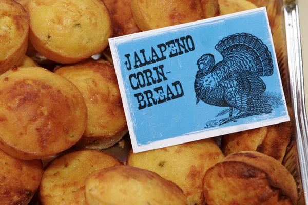 Muffin di mais con Jalapeños e Formaggio