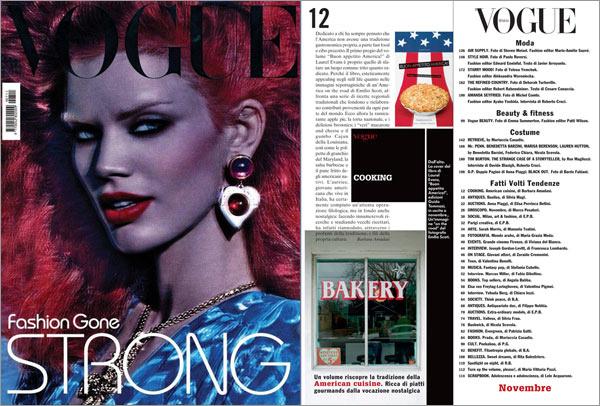 Buon Appetito America in Vogue Italia!