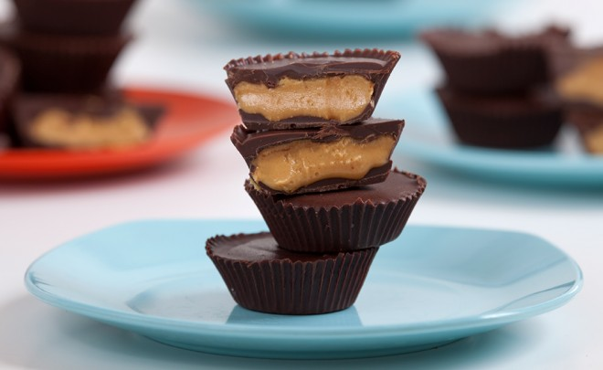 Peanut Butter Cups for Halloween