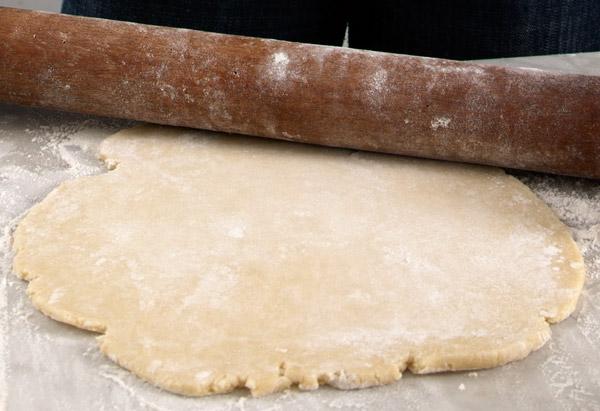 Pie crust: Pasta brisée friabile