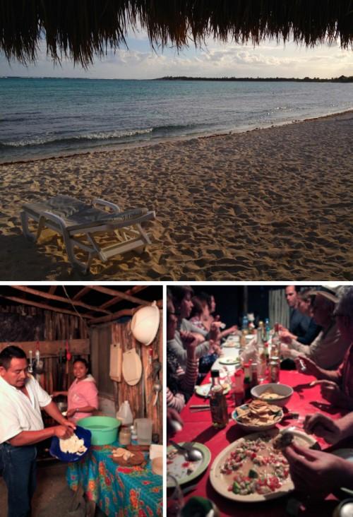 Ceviche, y Bienvenidos en Mexico!