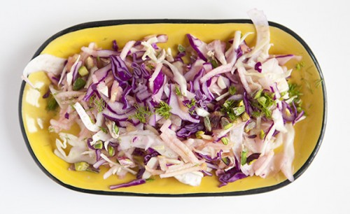 Cabbage, Fennel and Green Apple Slaw
