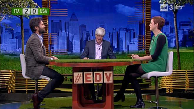 The grass is greener… TV battle!