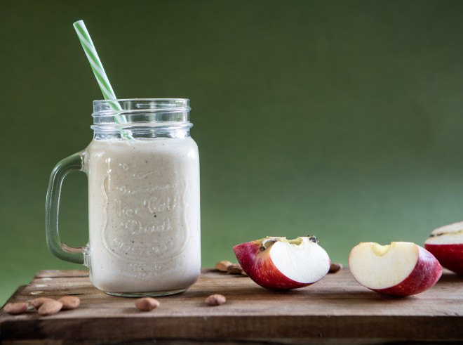 Apple pie smoothie: Frullato con mele speziate